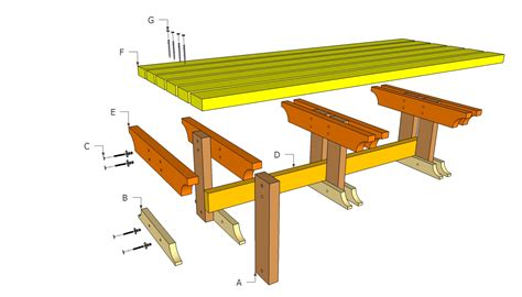 Outdoor Patio Table Plans How To Make Planter Garden Bench Decobizz