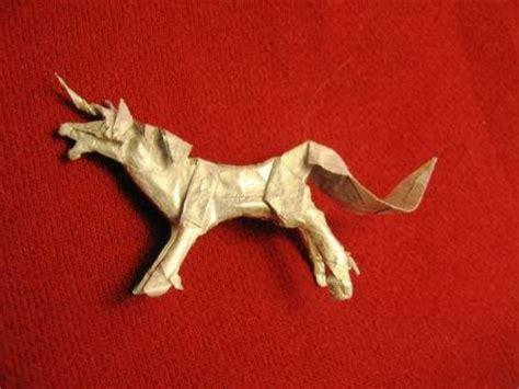 Simple Origami Unicorn - origami unicorns the equinest