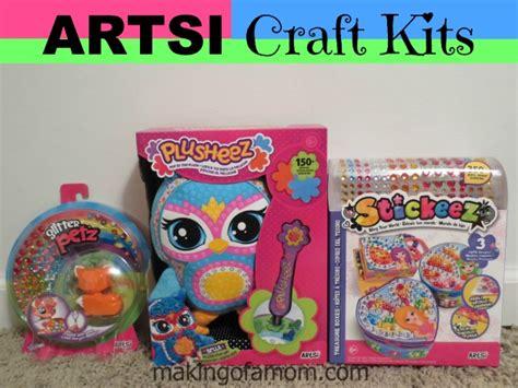 622222068592 Artsi Glitter Pets Squirrel artsi craft kits great gifts for