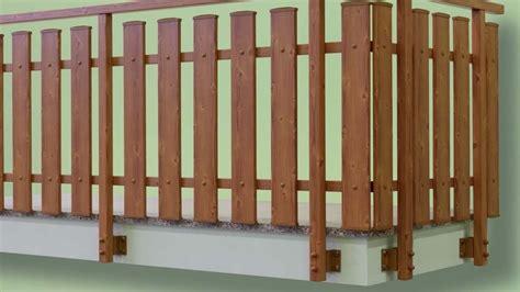 ringhiera in legno preventivo ringhiere e recinzioni in pvc habitissimo