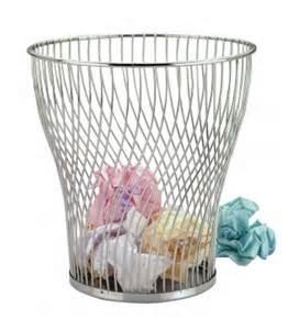 chrome wire waste paper basket chrome wire waste paper