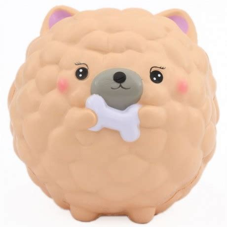 puppy squishy scented jumbo chow chow squishy decomayshop squishy shop