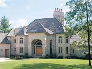 Luxury One Story House Plans Chateau House Plan With 6000 Square Feet And 5 Bedrooms