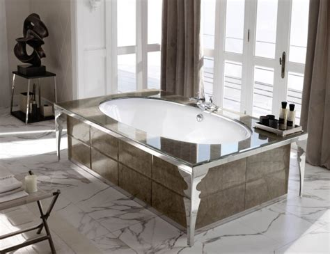 high end bathtubs milldue majestic 25 gold aligator glass high end italian