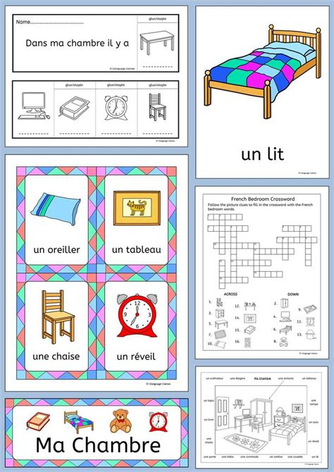 french word for bedroom 17 best images about french lessons on pinterest