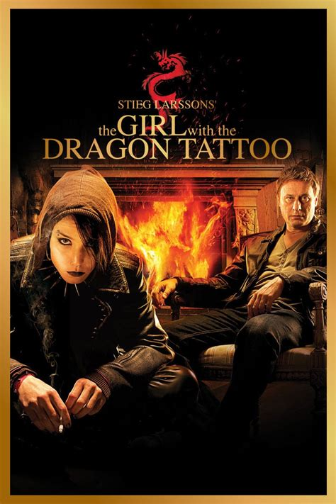dragon tattoo movie the with the 2009 posters the