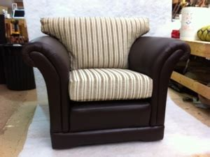 half leather half fabric sofa half leather half fabric dorchester chair ralvern