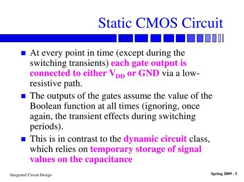 why are cmos integrated circuits static sensitive why are cmos integrated circuits static sensitive 28 images cmos digital integrated circuits
