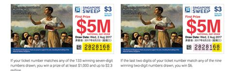Sweepstakes Singapore - featuring this painting in singapore sweep ads tickets is ironic here s why