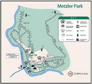 oregon cground map metzler park cground near portland oregon