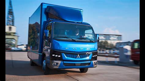 mitsubishi fuso interior 2017 daimler fuso ecanter interior exterior and drive