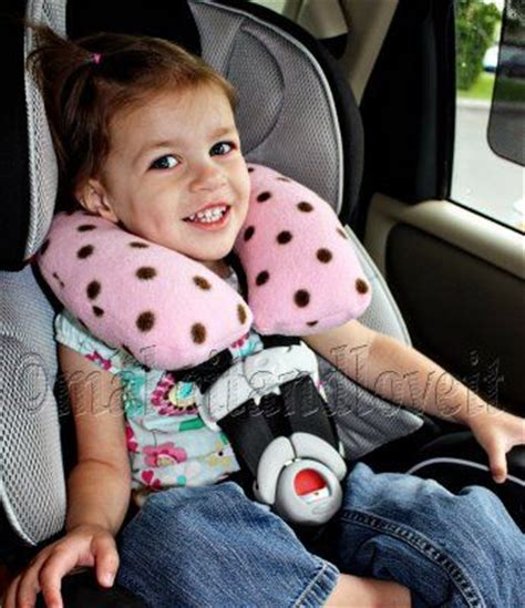 car seat pillow for toddlers neck pillow for the traveler i make this