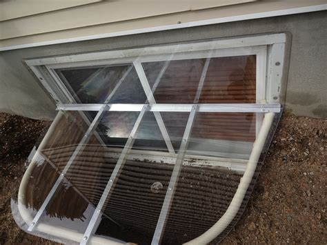 clear window well covers how to choose the right window well cover windowell utah