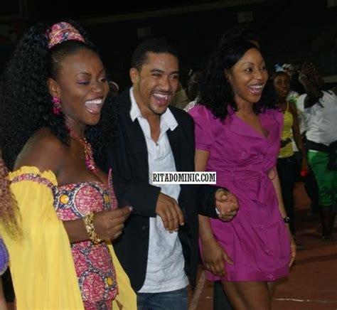ghanaian film nigerian ghanaian film stars give back in liberia