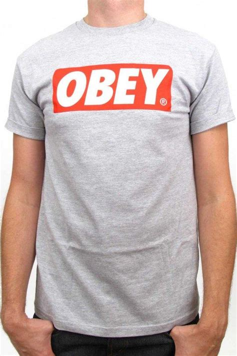 Sweater Basic Obey obey bar logo basic t shirt t shirts obey clothing uk store obey mens clothing obey womens