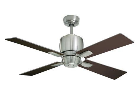 emerson brushed steel 46 quot veloce 4 blade indoor ceiling