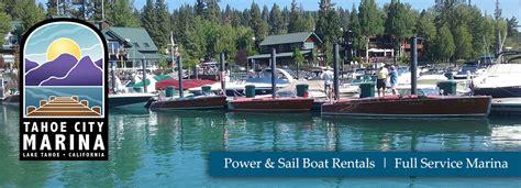 tahoe marina boat rentals coupons tahoe city marina lake tahoe