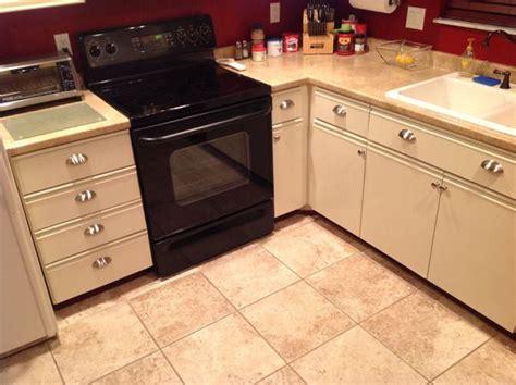 laminate kitchen cabinet makeover 80s laminate and oak trim cabinet makeover these cabinets