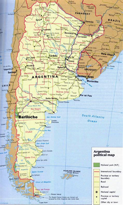 map of argentina cities argentina maps printable maps of argentina for