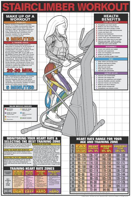 25 best ideas about stair climber workout on