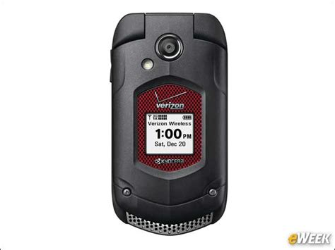 kyocera s rugged duraxv flip phone is built to withstand a