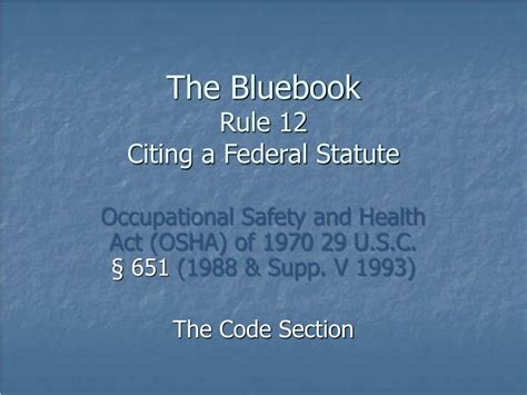 what is section 11 c of the osh act ppt chapter 6 powerpoint presentation id 330978