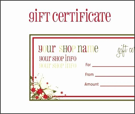 editable printable gift vouchers 10 gift voucher template in editable form