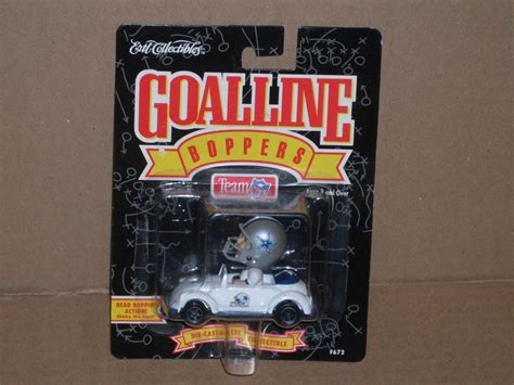Dvd 1996 All The Goals ertl collectibles dallas cowboys goal line boppers 1996