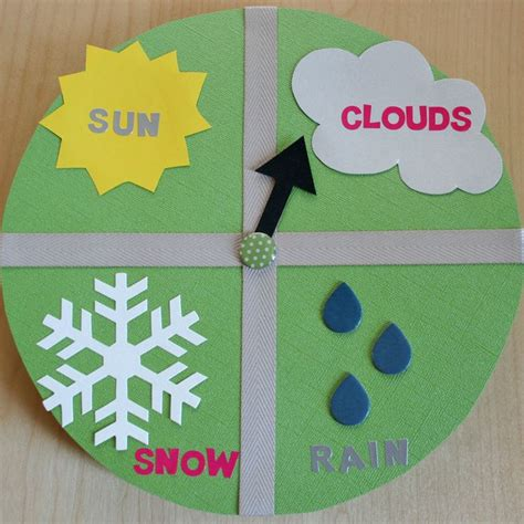 Chart Paper Craft - 17 best images about weather teaching ideas on