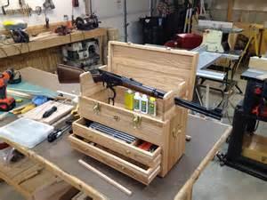 How To Build A Bench Rest For Shooting Gun Cleaning Kit By Bill N Jodi Lumberjocks Com