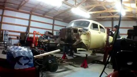 auto body repair training 2008 chevrolet express parental controls 54 belair mounting body to frame youtube
