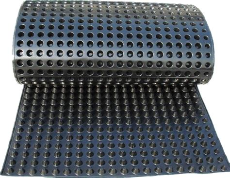 Roof Drainage Mat by Hdpe Dimpled Drainage Sheet For Green Roof Drainage Mat