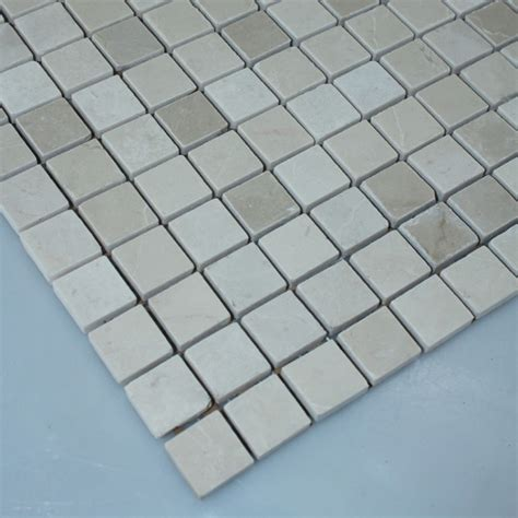 stone mosaic tile square grey pattern washroom wall marble