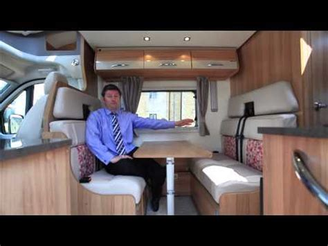 drop down bed the practical motorhome bailey approach advance 665 review doovi
