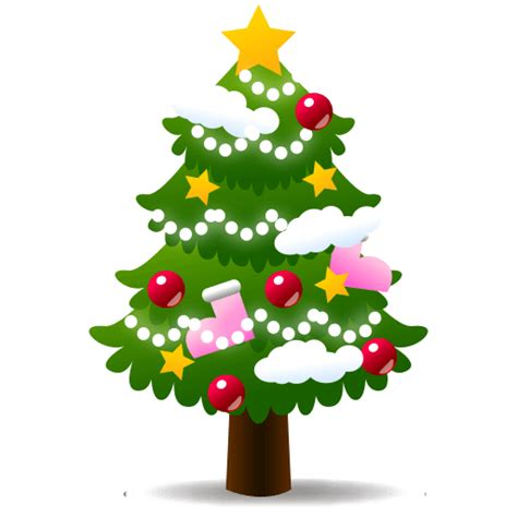 christmas tree emoji for facebook email sms id 283