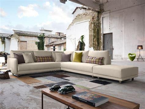 domingo divani divano angolare in tessuto araki divano angolare