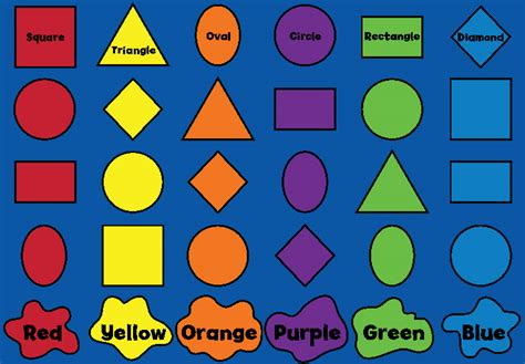 learn colors and shapes color the house house made of learning color and shapes carpet
