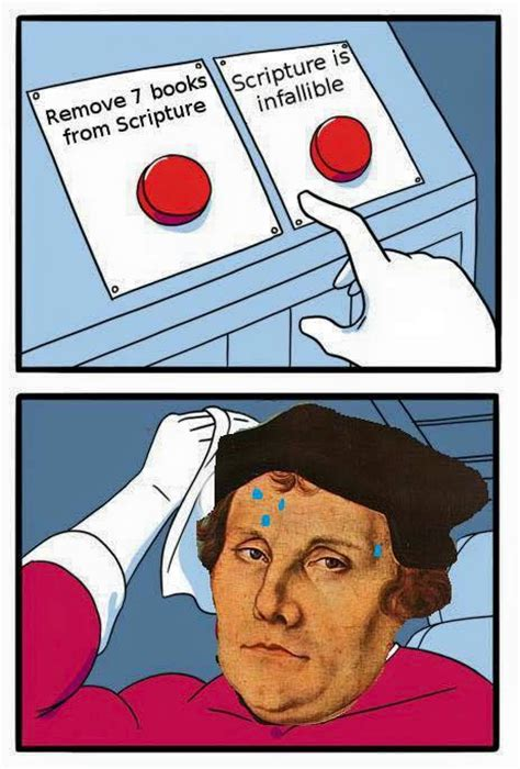 Martin Luther Memes - quot protestant logic quot christian page shares atheist meme