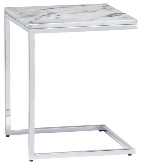 White Marble Side Table by Marble Top C Table Cb2 Side Tables And