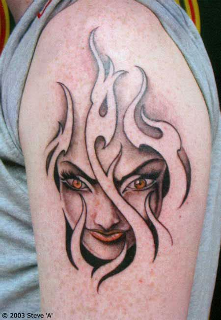 flame tattoos cool tattoos gallery