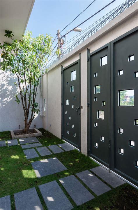 patio interior superficie construida dise 241 o de casa moderna 112 m 178 planos de arquitectura