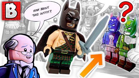 Lego Batman Tartan new lego batman minifigures tartan batman