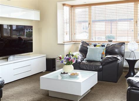 Use Stylish Storage To Restore Order To Your Living Room White Gloss Furniture Living Room