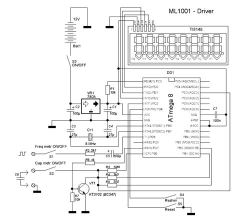 measure inductance with microcontroller inductance meter atmega 28 images rf inductance meter using microcontroller atmega32 avr lc