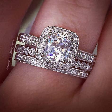 1000 ideas about modern wedding rings on pinterest