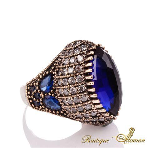 ottoman rings for seyyare sapphire silver authentic ottoman ring boutique
