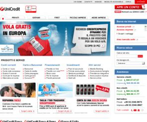 www unicredit it accesso privati unicredit bancadiroma unicredit servizi
