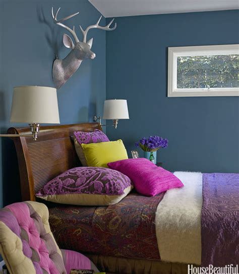 Bedroom Ideas For Paint Colors Colorful Bedrooms 30 Color Ideas That Ll Punch Up Any Space