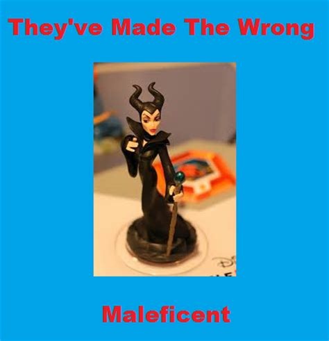 infinity is made by disney infinity made the wrong maleficent by