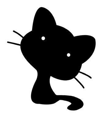 imagenes siluetas negras siluetas negras animales para recortar imagenes y